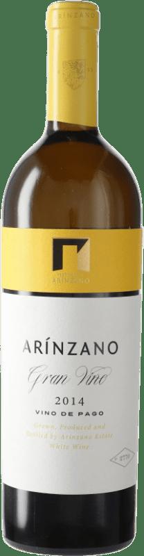 99,95 € | White wine Arínzano Gran Vino D.O. Navarra Navarre Spain Tempranillo, Merlot, Cabernet Sauvignon Bottle 75 cl