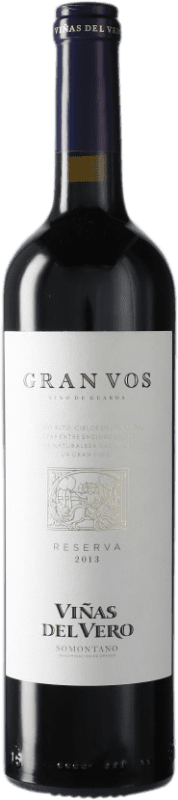 19,95 € Envoi gratuit | Vin rouge Viñas del Vero Gran VOS D.O. Somontano Catalogne Espagne Bouteille 75 cl