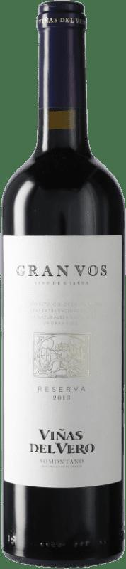 19,95 € Envío gratis | Vino tinto Viñas del Vero Gran VOS D.O. Somontano Cataluña España Botella 75 cl