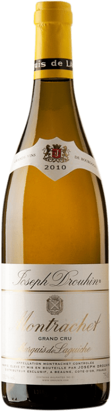 871,95 € Free Shipping | White wine Drouhin Grand Cru Marquis de Laguiche 2010 A.O.C. Montrachet Burgundy France Chardonnay Bottle 75 cl