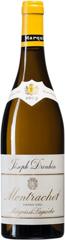 717,95 € Free Shipping | White wine Drouhin Grand Cru Marquis de Laguiche 2009 A.O.C. Montrachet Burgundy France Chardonnay Bottle 75 cl