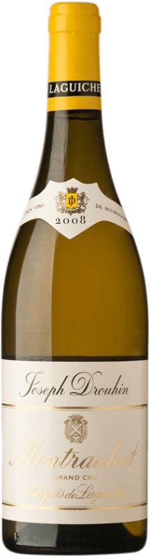 826,95 € Free Shipping | White wine Drouhin Grand Cru Marquis de Laguiche 2008 A.O.C. Montrachet Burgundy France Chardonnay Bottle 75 cl