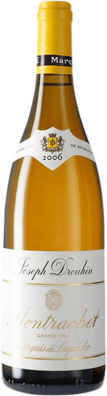 695,95 € Free Shipping | White wine Drouhin Grand Cru Marquis de Laguiche 2006 A.O.C. Montrachet Burgundy France Chardonnay Bottle 75 cl