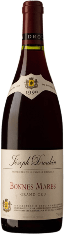 1 108,95 € Free Shipping | Red wine Drouhin Grand Cru 1990 A.O.C. Bonnes-Mares Burgundy France Pinot Black Bottle 75 cl