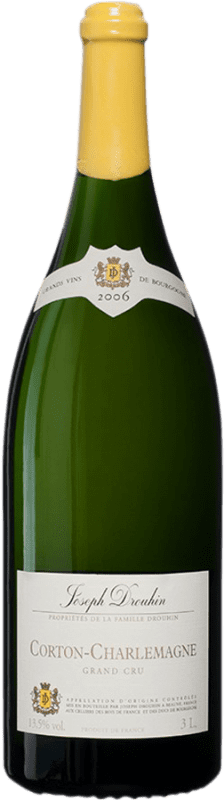 899,95 €   White wine Drouhin Grand Cru 2006 A.O.C. Corton-Charlemagne Burgundy France Chardonnay Jéroboam Bottle-Double Magnum 3 L
