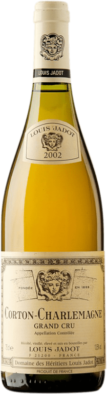 229,95 € | White wine Louis Jadot Grand Cru 2002 A.O.C. Corton-Charlemagne Burgundy France Chardonnay Bottle 75 cl
