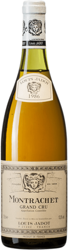 909,95 € | White wine Louis Jadot Grand Cru 1986 A.O.C. Montrachet Burgundy France Bottle 75 cl