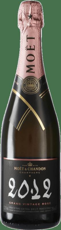 83,95 € | Rosé sparkling Moët & Chandon Grand Vintage Rosé A.O.C. Champagne Champagne France Bottle 75 cl