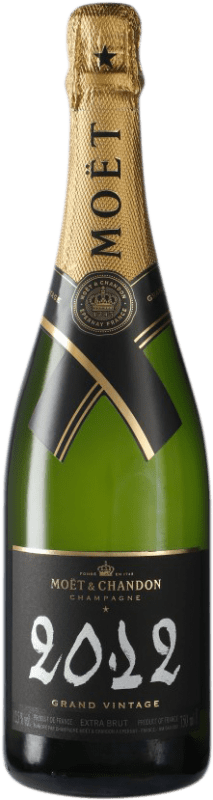 67,95 € | White sparkling Moët & Chandon Grand Vintage A.O.C. Champagne Champagne France Pinot Black, Chardonnay, Pinot Meunier Bottle 75 cl