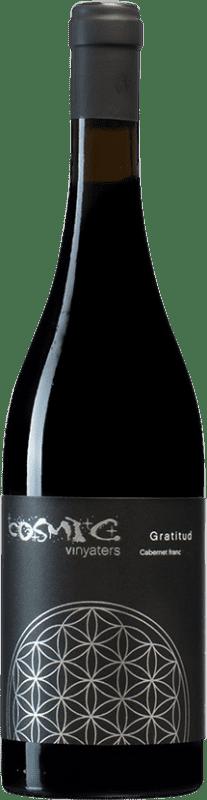 14,95 € | Red wine Còsmic Gratitud Spain Cabernet Franc Bottle 75 cl