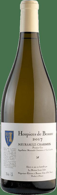 1 221,95 € Free Shipping | White wine Louis Jadot Hospices de Beaune 1er Cru Charmes Cuvée Albert Grivault A.O.C. Meursault Burgundy France Chardonnay Jéroboam Bottle-Double Magnum 3 L