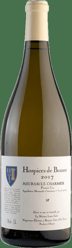 2 644,95 € Free Shipping | White wine Louis Jadot Hospices de Beaune 1er Cru Charmes Cuvée Albert Grivault A.O.C. Meursault Burgundy France Chardonnay Imperial Bottle-Mathusalem 6 L