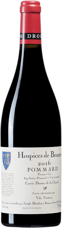 157,95 € Free Shipping | Red wine Drouhin Hospices de Beaune 1er Cru Cuvée Dames de la Charité A.O.C. Pommard Burgundy France Pinot Black Bottle 75 cl
