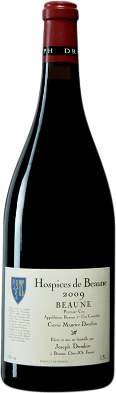 302,95 € Free Shipping | Red wine Drouhin Hospices de Beaune 1er Cru Cuvée Maurice Drouhin 2009 A.O.C. Côte de Beaune Burgundy France Pinot Black Magnum Bottle 1,5 L