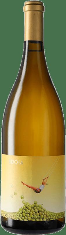 22,95 € Free Shipping | White wine Ca N'Estruc Idoia Blanc D.O. Catalunya Catalonia Spain Grenache White, Macabeo, Xarel·lo, Chardonnay Magnum Bottle 1,5 L
