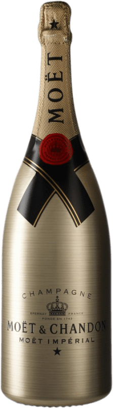 122,95 € | White sparkling Moët & Chandon Impérial Gold Brut A.O.C. Champagne Champagne France Pinot Black, Chardonnay, Pinot Meunier Magnum Bottle 1,5 L