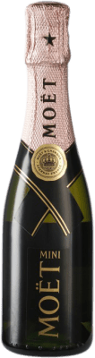 19,95 € | Rosé sparkling Moët & Chandon Impérial Rosé Brut A.O.C. Champagne Champagne France Chardonnay, Pinot Meunier Small Bottle 20 cl