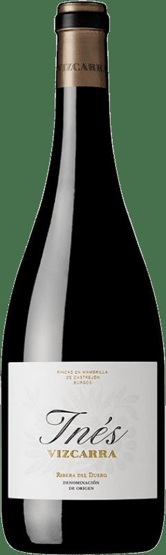 59,95 € | Red wine Vizcarra Inés 2010 D.O. Ribera del Duero Castilla y León Spain Tempranillo, Merlot Bottle 75 cl
