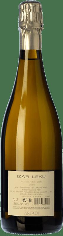 23,95 € Free Shipping | White sparkling Artadi Izar-Leku D.O. Getariako Txakolina Basque Country Spain Bottle 75 cl