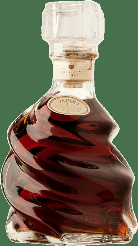 131,95 € Envío gratis | Brandy Torres Jaime I de la Familia Reserva D.O. Penedès Cataluña España Botella 70 cl