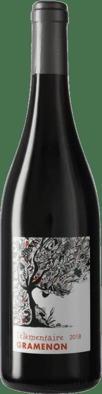 16,95 € Free Shipping | Red wine Domaine Gramenon L'élémentaire A.O.C. Côtes du Rhône France Syrah, Grenache Bottle 75 cl
