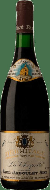 742,95 € | Red wine Jaboulet Aîné La Chapelle 1990 A.O.C. Hermitage France Syrah Bottle 75 cl
