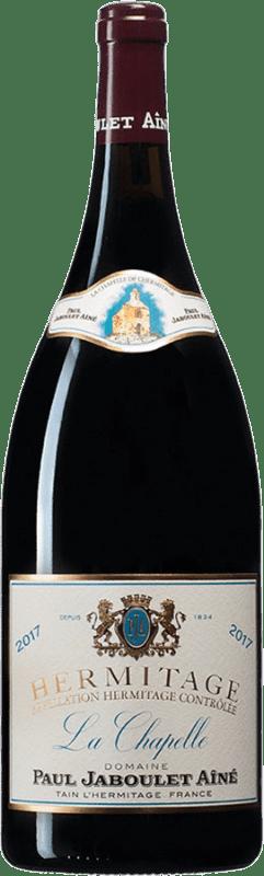 565,95 € Free Shipping | Red wine Jaboulet Aîné La Chapelle A.O.C. Hermitage France Syrah Magnum Bottle 1,5 L