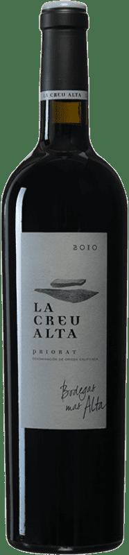 107,95 € Envío gratis | Vino tinto Mas Alta La Creu Alta 2010 D.O.Ca. Priorat Cataluña España Garnacha, Cariñena Botella 75 cl