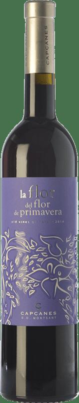 39,95 € Free Shipping | Red wine Capçanes La Flor del Flor Vinyes Velles D.O. Montsant Spain Grenache Tintorera Bottle 75 cl