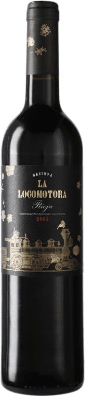 14,95 € Free Shipping | Red wine Uvas Felices La Locomotora Reserva D.O.Ca. Rioja Spain Tempranillo Bottle 75 cl