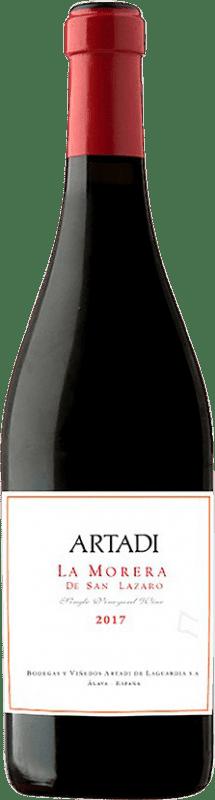 97,95 € Envío gratis | Vino tinto Artadi La Morera de San Lázaro D.O. Navarra Navarra España Tempranillo Botella 75 cl
