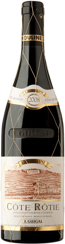 387,95 € Free Shipping | Red wine Domaine E. Guigal La Mouline 2008 A.O.C. Côte-Rôtie France Syrah, Viognier Bottle 75 cl