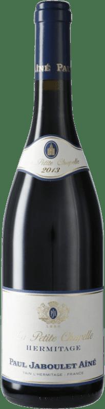 79,95 € Free Shipping | Red wine Jaboulet Aîné La Petite Chapelle A.O.C. Hermitage France Syrah Bottle 75 cl