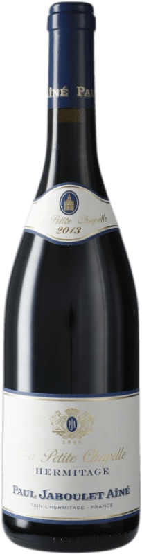 79,95 € Envío gratis | Vino tinto Jaboulet Aîné La Petite Chapelle A.O.C. Hermitage Francia Syrah Botella 75 cl