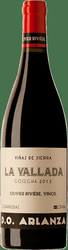 11,95 € Envío gratis | Vino tinto Olivier Rivière La Vallada D.O. Arlanza España Tempranillo Botella 75 cl