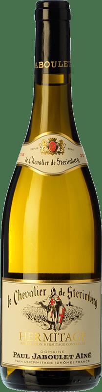 78,95 € 免费送货 | 白酒 Jaboulet Aîné Le Chevalier de Stérimberg A.O.C. Hermitage 法国 Roussanne, Marsanne 瓶子 75 cl