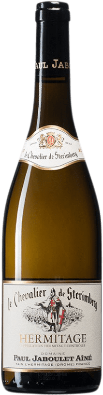 78,95 € Envío gratis | Vino blanco Jaboulet Aîné Le Chevalier de Stérimberg A.O.C. Hermitage Francia Roussanne, Marsanne Botella 75 cl