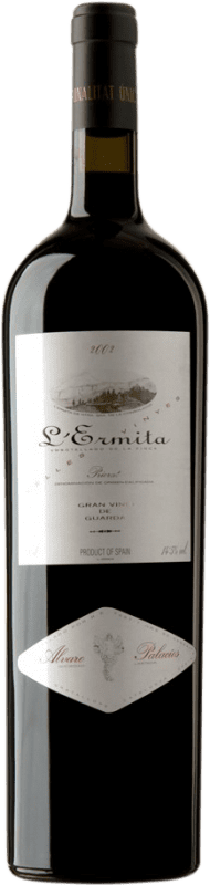 4 669,95 € 免费送货   红酒 Álvaro Palacios L'Ermita 2002 D.O.Ca. Priorat 加泰罗尼亚 西班牙 Grenache, Cabernet Sauvignon 瓶子 Jéroboam-双Magnum 3 L