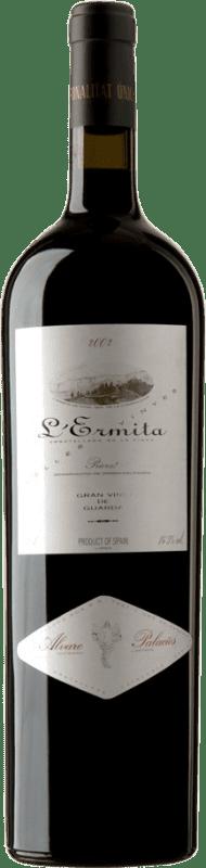 4 669,95 € Envío gratis | Vino tinto Álvaro Palacios L'Ermita 2002 D.O.Ca. Priorat Cataluña España Garnacha, Cabernet Sauvignon Botella Jéroboam-Doble Mágnum 3 L