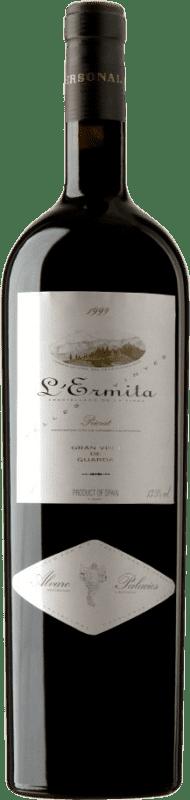 4 669,95 € Envío gratis | Vino tinto Álvaro Palacios L'Ermita 1999 D.O.Ca. Priorat Cataluña España Garnacha, Cabernet Sauvignon Botella Jéroboam-Doble Mágnum 3 L