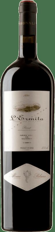4 669,95 € Free Shipping | Red wine Álvaro Palacios L'Ermita 1998 D.O.Ca. Priorat Catalonia Spain Grenache, Cabernet Sauvignon Jéroboam Bottle-Double Magnum 3 L