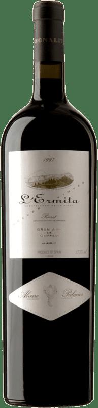 4 669,95 € Free Shipping | Red wine Álvaro Palacios L'Ermita 1997 D.O.Ca. Priorat Catalonia Spain Grenache, Cabernet Sauvignon Jéroboam Bottle-Double Magnum 3 L