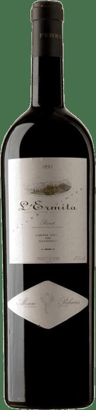 8 809,95 € Free Shipping | Red wine Álvaro Palacios L'Ermita 1995 D.O.Ca. Priorat Catalonia Spain Grenache, Cabernet Sauvignon Special Bottle 5 L