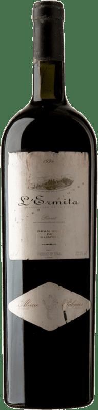 7 752,95 € Free Shipping | Red wine Álvaro Palacios L'Ermita 1994 D.O.Ca. Priorat Catalonia Spain Grenache, Cabernet Sauvignon Special Bottle 5 L