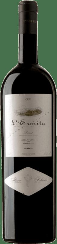 29 939,95 € Free Shipping   Red wine Álvaro Palacios L'Ermita 1995 D.O.Ca. Priorat Catalonia Spain Grenache, Cabernet Sauvignon Botella Melchor 18 L