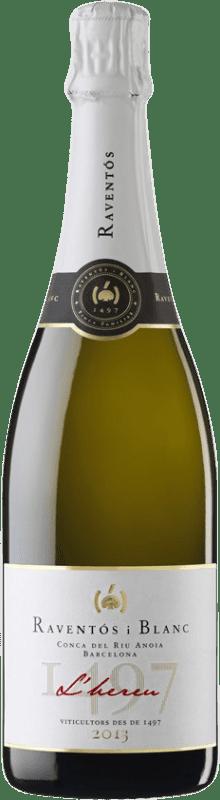 11,95 € Free Shipping   White sparkling Raventós i Blanc L'Hereu Brut D.O. Cava Spain Macabeo, Xarel·lo, Parellada Bottle 75 cl