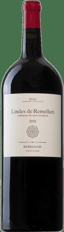 29,95 € 免费送货 | 红酒 Ntra. Sra de Remelluri Lindes Viñedos de San Vicente D.O.Ca. Rioja 西班牙 Tempranillo, Grenache, Graciano, Viura 瓶子 Magnum 1,5 L