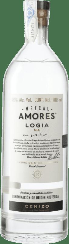 65,95 € 免费送货   梅斯卡尔酒 Amores Logia Cenizo 墨西哥 瓶子 70 cl