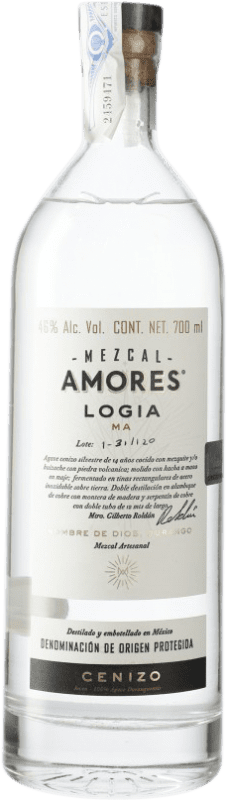 65,95 € Free Shipping | Mezcal Amores Logia Cenizo Mexico Bottle 70 cl