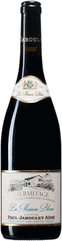 71,95 € Envío gratis | Vino tinto Jaboulet Aîné Maison Bleue A.O.C. Hermitage Francia Syrah Botella 75 cl